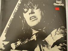 SUZI QUATRO LP YOUR MAMA WON'T LIKE ME rare Italian Columbia press