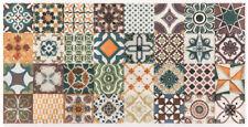 """Quadratmeterpreis: spanische Wandfliesen """"Catania Messina"""" 15x30 cm, Ornamente"""