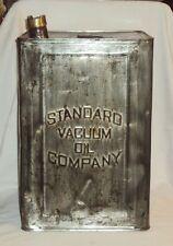 ESSO ELEPHANT KEROSENE PETROL STATION TIN CONTAINER STRANDED VACUUM OIL Company