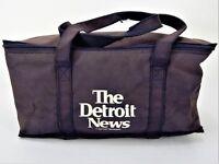 Vintage The Detroit News Cooler Bag