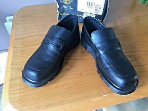 Vintage Dr Martens black leather loafer UK 5 EU 38 Made in England