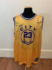 NBA Jason Richardson Golden State Warriors Reebok Hardwood Classics Jersey 2XL