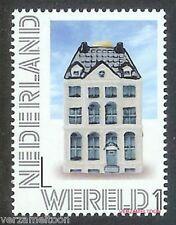 NVPH 2899  PERSOONLIJKE POSTZEGEL 2012: DELFTS BLAUWE KLM-HUISJES WERELD 1 pf.