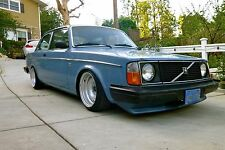 VOLVO 240/242/244/245 CUSTOM TWO PIECE CORSA GT STEEL WHEELS STEELIES