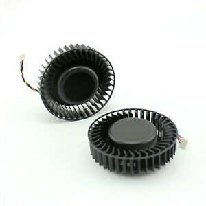 BFB1012SHA01 BV5 12V 2.4A Turbo Fan for DELTA R9 390x AMD 390x 4Pin Replacement
