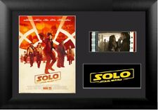 Solo: A Star Wars Story (2018) Stunning 35 mm Film Cell Display Framed S2