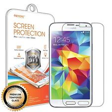 Samsung Galaxy S5 Premium Real Tempered Glass Screen Protector Guard
