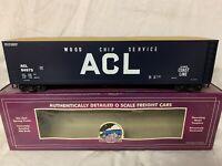 ✅MTH PREMIER ATLANTIC COAST LINE WOOD CHIP HOPPER CAR! FITS LIONEL ATLAS K-LINE