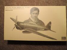 Limited edition Hasegawa 1/48 A6M2b ZERO FIGHTER TYPE21 `Iwamoto' with FIGURE