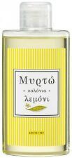 MYRTO SINCE 1959 GREEK TRADITIONAL EAU DE COLOGNE FRAGRANCE LEMON SCENT 200ml