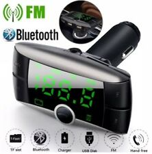 Wireless Bluetooth FM Transmitter Radio Car Kit CHARGER, APPLE , ANDROID, SMART
