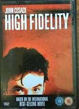 High Fidelity DVD 2000 Nick Hornby Record Store Shop Comedy w/ John Cusack