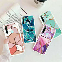 Case For Xiaomi Redmi Note 8T 9 Pro 9S 8A ShockProof Marble Phone Cover Silicone