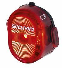 Sigma NUGGET II - USB Akku LED Fahrrad Lampe Rücklicht Rück Licht Rad Rot STVZO