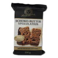 Henry Lambertz Schoko Butter Spekulatius 200g mit viel Schokolade und Kakao