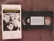 DEPECHE MODE Some Great Videos US VHS VIDEO 38124-3 w/Slip CaseFree S&H
