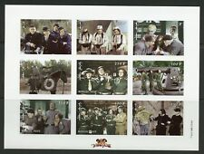 MONGOLIA 1998 'THE THREE STOOGES'  SC#2335/37 SET OF THREE IMPF SHEETS  MINT  NH
