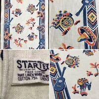 Vintage STARTEX Kitchen Dish TOWEL Mexican / Southwestern Theme