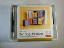 New Get Organized YouCopia® TeaStand® Tea Bag Cabinet Organizer Caddy Kitchen A1