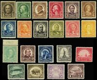 551-71, Mint VF OG LH A Very Fresh Stamps to the $1 Cat $295.00 - Stuart Katz