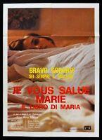 Werbeplakat Je Vous Salue Marie 1985 Jean Luc Godard Roussel Rode Binoche M290