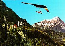 Drachenflieger am Tegelberg / Schwangau , Ansichtskarte, gelaufen
