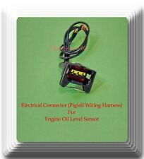 Connector of Engine Oil Level Sensor FLS188 Fits: BMW 525I 1990-1995 L6 2.5L