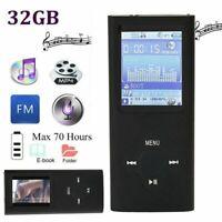 1.8'' MP3 HIFI Music Player Portable Reading Media Digital Player With FM Radio