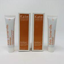 2x Kate Somerville ExfoliKate Intensive Exfoliating Treatment 0.25 oz Each NIB