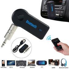 Wireless BT 3.5mm AUX Audio Music Receiver Adapter Mic Handsfree Audio