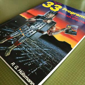 33 Programme für den SinciarSPECTRUM - 1. Auflage von 1983