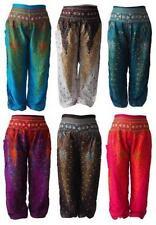 Pantaloni da donna harem a gamba larga