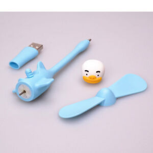 KAKAO FRIENDS USB Portable Mini Fan Cooler  1pcs 5pin_with tracking number