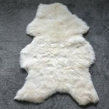 Sheepskin Rug Unique OFF White / Light Cream 120 CM NEW!