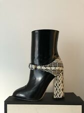 Gucci Regent Black/Elaphe Snakeskin Boots RP£1000 39.5 Princetown Marmont Sylvie