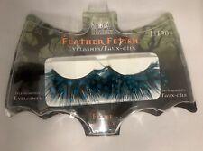 WETnWILD Fantasy Makers False Eyelashes Feather Fetish- Fluff- Turquoise (1 Set)