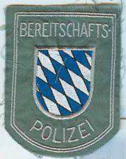 Polizia Baviera: armabz. Bepo provenienti dagli anni 60er, Drill