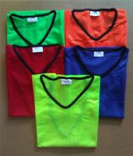 Sports Mesh Training Bibs Vests - Soccer Football Rugby - 3 Sizes - 5 Colours