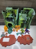 Vintage MOTU He-Man Lot - Masters Of The Universe - Castle Grayskull Figures