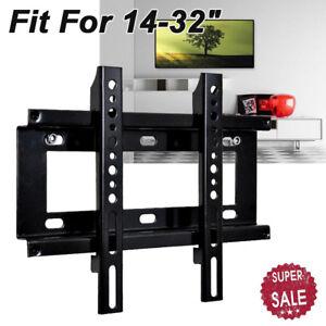 LCD LED PLASMA TILT TV WALL MOUNT BRACKET 14 19 22 26 28 29 32 inch Plasma 25KG