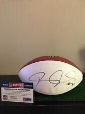 Janoris Jenkings autograph NFL Panel Ball with COA Saints/ Giants/Rams