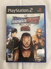 Smack Down Vs Raw 2008, Playstation 2 Sony, Ps2, Pal, Envios Combinados.