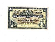 1964 Royal Bank of Scotland £1 P324 AU PB1