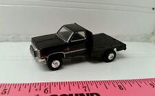 1/64 CUSTOM ERTL farm toy 1986 Chevy chevrolet k20 flatbed dually pickup truck