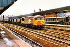 PHOTO  1986 MERRY GO ROUND COAL TRAIN DONCASTER 1986 A HEAVY TRAIN OF COAL PASSE