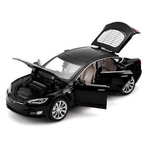 1/32 Scale Tesla Model S P100D EV Alloy Model Car Toy Collection Sound Light