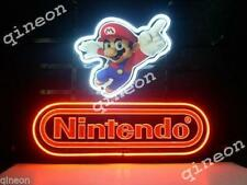 17X14 Nintendo Super Mario Real Neon Sign Beer Bar game room  Light FAST SHIP