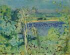 Pierre Bonnard The Rise In The River Canvas Print 16 x 20  # 5705