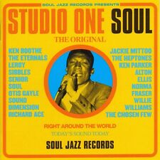 CD SUDIO ONE  Soul    Compil Soul Jazz Records    NEUF Emballé