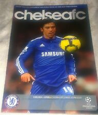 Chelsea fc vs Apoel matchday programme 8/12/2009 Champions League
